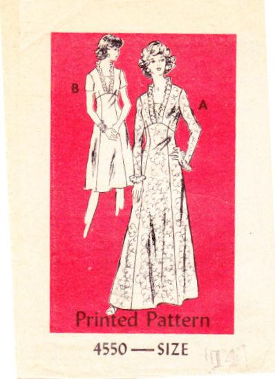 Vintage Anne Adams Sewing Pattern