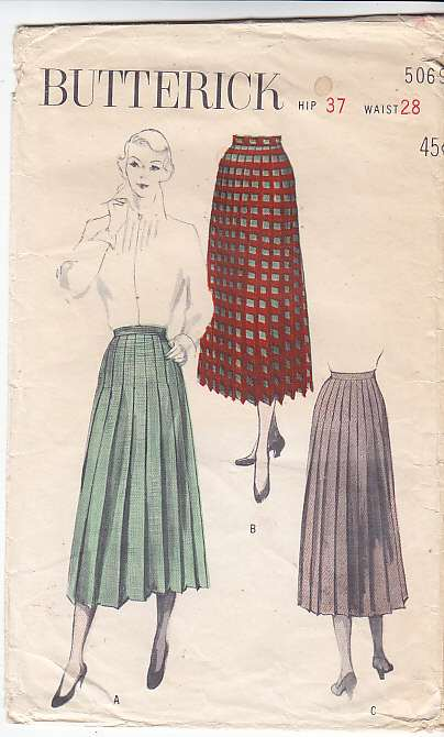 Butterick 5069 Vintage Sewing Pattern