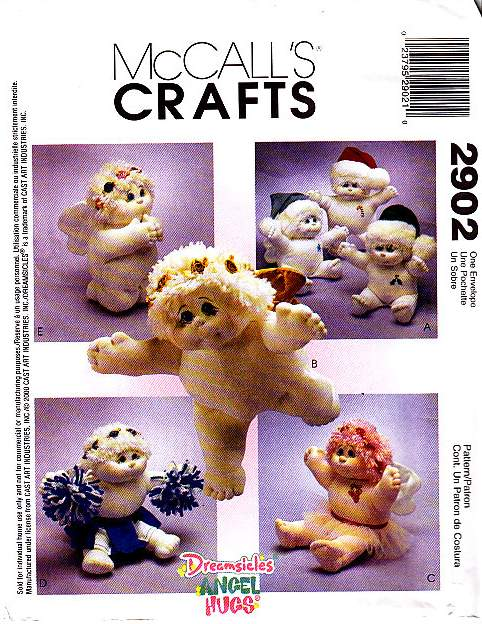 McCalls 2902 Doll Sewing Pattern