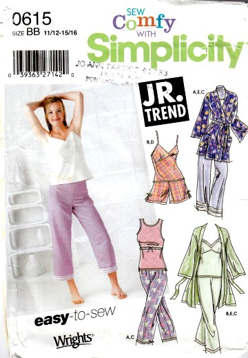 shorts sewing patterns Junior