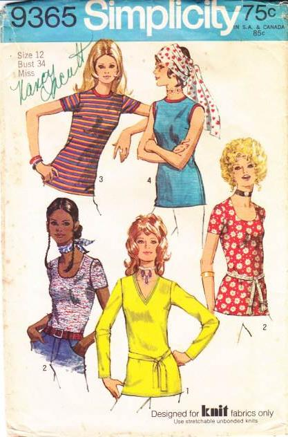 Simplicity 9365 V-Neck Top Sewing Pattern