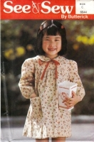 Butterick 6644 Girls Dress Sewing Pattern 5-6X Uncut