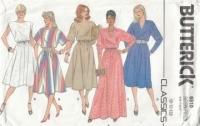 Butterick 6510 Pullover Dress Sewing Pattern 8-12 B31-34 Uncut