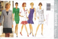 Butterick 4335 Sleeveless Dress & Jacket Sewing Pattern 6-10 B30-32 Uncut