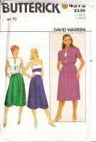 Butterick 4375 80s Sundress and Jacket Sewing Pattern 16 B38 Uncut