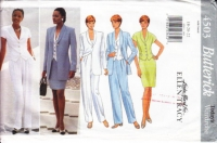 Butterick 4503 Jacket, Top, Skirt, & Pants Sewing Pattern 18-22 B40-44 Uncut