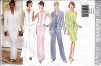 Butterick 4781 Jacket, Top, Skirt Pants Sewing Pattern 6-10 B30-32