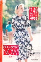 Butterick 4953 Blouson Dress Sewing Pattern 6-14 B30-36