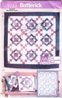 Butterick 5732 Aunt Nancy's Patchwork Quilt Sewing Pattern Uncut