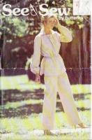 Butterick 6397 70s Tunic & Pants Sewing Pattern 8-12 B31-34 Uncut