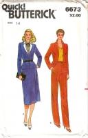 Butterick 6673 Jacket, Skirt, & Pants Sewing Pattern 14 B36 Uncut