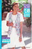 Butterick 6771 Vest & Wide-Legged Shorts Sewing Pattern 12-16 B34-38 Uncut