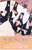 Indygo Junction 367 Adorn With Angels Vest Sewing Pattern S-L Uncut