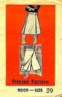 Marian Martin 9009 Split, Scooter Skirt Sewing Pattern Waist 29 Used