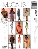 McCalls 2237 Caftan, Cardigan, Tank Top, Pants Sewing Pattern 20-22 B44 Uncut
