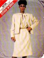 McCalls 8735 Cardigan Jacket & Pullover Dress Sewing Pattern 12-16 B34-38 Uncut