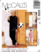 McCalls 9288 Tunic Top, Maxi Skirt, & Pants Sewing Pattern Plus Size 22 B44 Uncut