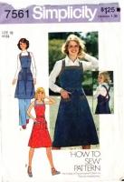 Simplicity 7561 Back Wrap Summer Sun Dress Sewing Pattern 10 B32 Used