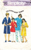 Simplicity 8120 Childs Bath Robe Sewing Pattern Medium C29-30 Used