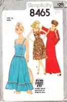 Simplicity 8465 Farmer's Daughter Sundress & Maxi Dress Sewing Pattern 14 B36 Uncut