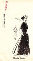 "Spadea 1170 Varden Petites 1950s Fit & Flare Shirtwaist Dress Sewing Pattern 12 B35"" Used"