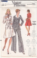 Vogue 8528 Dress, Tunic and Pants Sewing Pattern 14 B36